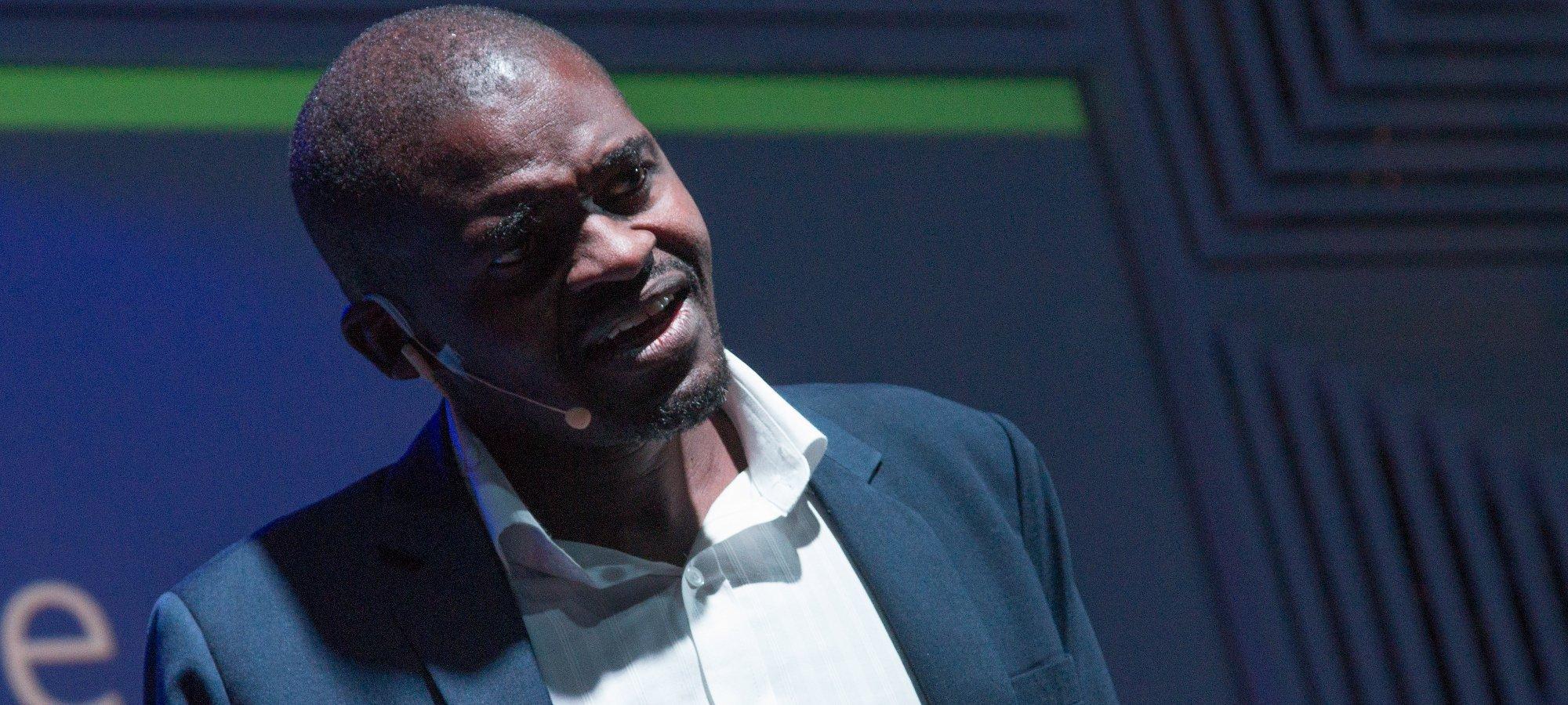 Speaker Frank Magwegwe